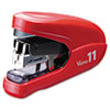 Max Flat Clinch Light Effort Stapler, 35-Sheet Capacity, Red
