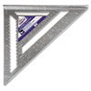 "Magnum Heavy-Duty Rafter Square, 12"" Edge, 1/8"" Graduations, Aluminum"