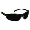 V40 PLATINUM x Safety Eyewear, Smoke Lens, Gun Metal Frame