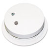 "Battery-Operated Smoke Alarm Unit, 9V, 85db Alarm, 3 7/8"" dia"
