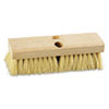 "Deck Brush Head, 10"" Head, Tampico Bristles"