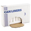 High-Density Can Liners, 40 x 46, 45gal, .47mil, Clear, 25/Roll, 10 Rolls/Carton