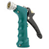 Insulated Grip Nozzle, Pistol-Grip, Zinc/Brass/Rubber, Green