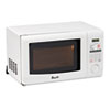 Avanti 0.7 Cubic Foot Capacity Microwave Oven, 700 Watts, White