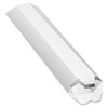 Quality Park Expand-on-Demand Mailing Tube, 15l x 2dia, White