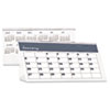 House of Doolittle Bar Harbor Desk Tent Monthly Calendar, 7 x 4-1/4, 2013