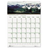 Scenic Beauty Monthly Wall Calendar, 15-1/2 x 22, 2013