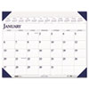 House of Doolittle Executive Monthly Desk Pad Calendar, 24 x 19, 2013