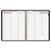 Professional Hardcover Weekly Planner, 15-Minute Appts., 8-1/2 x 11, Black, 2013