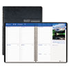 House of Doolittle Earthscapes Weekly Appointment Book, 8-1/2 x 11, Black, 2014