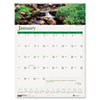 House of Doolittle Waterfalls of the World Monthly Wall Calendar, 12 x 12, 2014