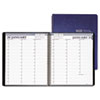Professional Weekly Planner, 15-Minute Appointments, 8-1/2 x 11, Blue, 2013