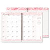 Breast Cancer Awareness Monthly Planner/Journal, 7 x 10, Pink, 2013