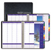 House of Doolittle Earthscapes Weekly/Monthly Planner, 8-1/2 x 11, Black, 2016