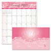 Breast Cancer Awareness 14-Month Pocket Secretary, 3-3/4 x 6-1/4, 2012-2014