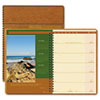 House of Doolittle Landscapes Weekly Planner, Unruled, 7 x 10, Brown, 2014