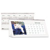 House of Doolittle Kitten Photos Desk Tent Monthly Calendar, 8-1/2 x 4-1/4, 2014