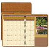 House of Doolittle Landscapes Full-Color Monthly Planner, Ruled, 7 x 10, Brown, 2016