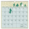 Illustrated Monthly Wall Calendar, 12 x 12, 2013