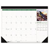 House of Doolittle Wild Birds Photographic Monthly Desk Pad Calendar, 22 x 17, 2013
