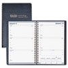 House of Doolittle Weekly Appointment Book, 30-Minute Appointments, 5 x 8, Black, 2015
