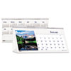 House of Doolittle Scenic Photos Desk Tent Monthly Calendar, 8-1/2 x 4-1/2, 2013