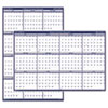 Poster Style Reversible/Erasable Academic Yearly Calendar, 24 x 37, 2012-2013