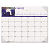 House of Doolittle Kittens Photographic Monthly Desk Pad Calendar, 22 x 17, 2013
