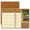 House of Doolittle Landscapes Full-Color Monthly Planner, Ruled, 8-1/2 x 11, Brown, 2015