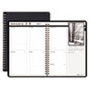 House of Doolittle Weekly Planner w/Black-&-White Photos, 8-1/2 x 11, Black, 2015