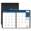 House of Doolittle Earthscapes Full-Color Monthly Planner, 8-1/2 x 11, Black, 2012-2014