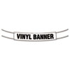 COSCO Banner, 2' x 4', White