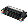 Samsung CLTP409C Toner, 1,000 Page-Yield, Black, Cyan, Magenta, Yellow, 4/Box