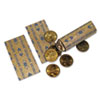 Tubular Coin Wrappers, Dollar Coins, $25, Pop-Open Wrappers, 1000/Pack