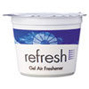 Re-Fresh Gel Air Freshener, Lemon, 4.6oz, Cassette