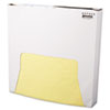 Bagcraft Papercon Grease-Resistant Wrap/Liner, 12 x 12, Yellow, 1000/Box, 5 Boxes/Carton