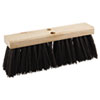 Street Broom Head, 16&quot; Head, Polypropylene Bristles