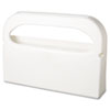 Hospital Specialty Co. Toilet Seat Cover Dispenser, Half-Fold, Plastic, White, 16w x 3 1/4d x 11 1/2h