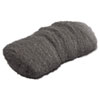 GMT Industrial-Quality Steel Wool Hand Pad, #000 Extra Fine, 16/Pack, 192/Carton
