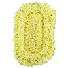 Rubbermaid Commercial Trapper Looped-End Dust Mop Head, 12 x 5, Yellow, 12/Carton