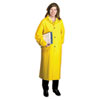 Raincoat, PVC/Polyester, Yellow, Size X-Large