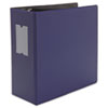"D-Ring Binder, 5"" Capacity, 8-1/2 x 11, Navy Blue"