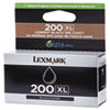 Lexmark 14L0174 (200XL) High-Yield Ink, Black