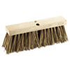 Street Broom Head, 16&quot; Head, Palmyra Bristles