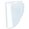 Fibre-Metal by Honeywell High Performance Face Shield Window, Wide Vision, Propionate, Clear
