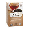 Numi Organic Tea, Breakfast Blend, 18/Box