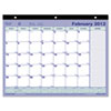 Brownline Monthly Desk Pad Calendar, 11 x 8-1/2, 2014