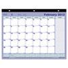 Brownline Monthly Desk Pad Calendar, 11 x 8-1/2, 2014