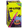 HI-LITER Highlighter, Pen-Style Chisel Tip, 20 Yellow/4 Pink, 24/Pk