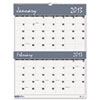 House of Doolittle Two-Months-per-Page Wirebound Wall Calendar, 20 x 26, 2013-2014